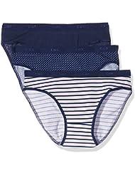 Dim Pockets Coton Slip X3, Braguita Para Mujer