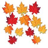 Deluxe Fabric Autumn Leaves - 3.5 and 4....