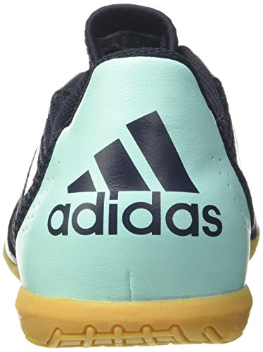 adidas Herren Ace 17.4 Sala Fußballschuhe, Rot Mehrfarbig (Legend Ink /ftwr White/energy Aqua )