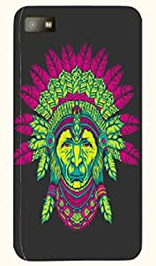 Amazing multicolor printed protective REBEL mobile back cover for Blackberry Z10 D.No.N-T-5933-BBZ10