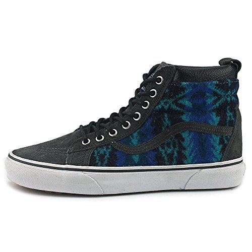 Vans Sk8-Hi Mte, Sneakers Hautes Mixte Adulte (MTE) Pendleton/Tribal/Asphalt
