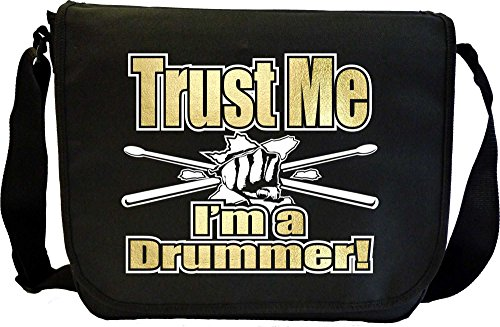 Drum Fist Sticks Trust Me - Sheet Music Document Bag Musik Notentasche MusicaliTee