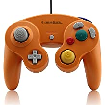 Childhood Clásico USB con cable controlador Gamepad para PC y Mac NGC naranja
