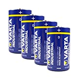 Varta Batterie 4er-Pack Varta Industrial 4020 Alkaline  Mono D  / LR20 / MN1300, 481386