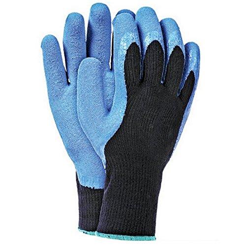 Winterarbeitshandschuhe 12 Paar Latexbeschichtung Gr.9-11 Winterhandschuhe Arbeitshandschuhe Schutzhandschuhe Sicherheitshandschuhe