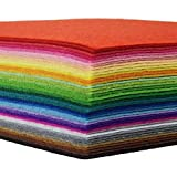 Angelhaken-Filz Stoff Tabelle DIY Craft Squares Faserstoff