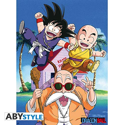 ABYstyle Abysse Corp_ABYDCO392 Dragon Ball - Póster Db/Kame Team (52X38)