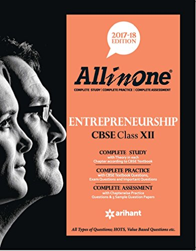 All In One Entrepreneurship Cbse Class 12th par Arihant Experts