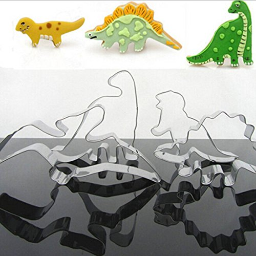 king-do-way-4-pcs-moule-biscuit-emporte-pices-inox-ptisserie-gteau-fruit-cookie-cutter-dinosaures