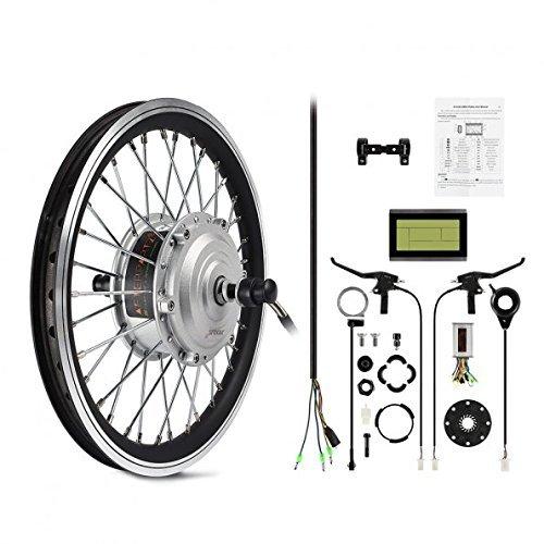 AFTERPARTZ® Elektro-Fahrrad Umbausatz Vorderrad Nachrüstsatz E-Bike 250W 36V 25km/h (29'')