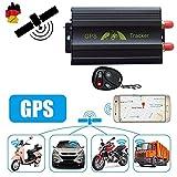 LESHP GPS Tracker TK103B Auto Überwachung +Fernbedienung GPS Ortung GSM GPRS