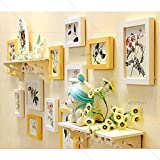 Artzfolio Wall Photo Frame Multicolor 4X6-7Pc;6X6-1Pc;8X10-3Pc;Set of 11 Pcs