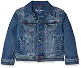 Pepe Jeans LEGENDARY Blouson Garçon Bleu (Denim Gl0) 3 ans (Taille fabricant: 3 Years)