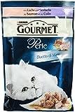 Gourmet Duetto di Mare Katzenfutter mit Lachs und Seelachs, 1er Pack (1 x 85g)