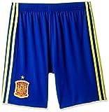 adidas Boys' Shorts (AA0845_CROYAL/BYELLO-140_9-10 years)