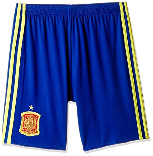 adidas Boys' Shorts (AA0845_CROYAL/BYELLO-152_11-12 years)  available at amazon for Rs.629