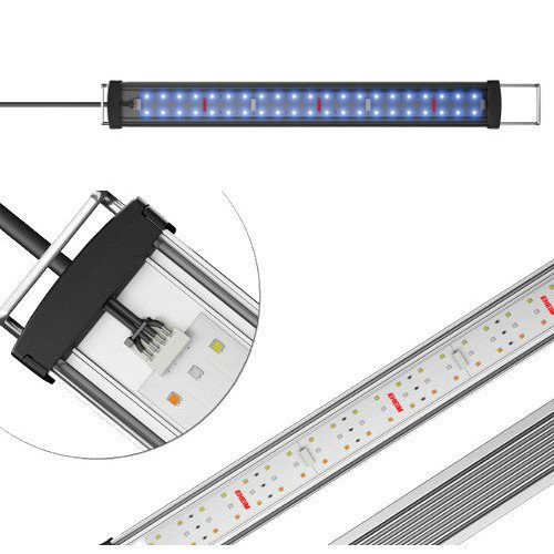 Eheim Rampe Power LED + Marineblau Keratose Beleuchtung für Aquarien 953mm 25,9W