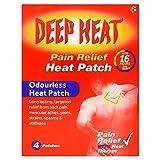 Deep Heat Patches x 4