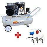 WD Tools Druckluft Kompressor K-50KR + Druckluft-Set 5 tlg.
