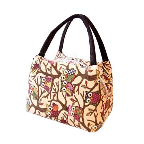Pranzo al sacco, Reasoncool Tote picnic pranzo fredda Cooler Bag Box borsa Pouch