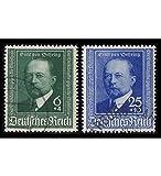 Goldhahn Deutsches Reich Lot mit Nr. 760-761 gestempelt Briefmarken für Sammler