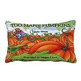 ODJOY-FAN Halloween Kissen Abdeckung,Kürbis Gedruckt Pillowcase Sofa Taille Werfen Kissen Zuhause Decorative Rechteck