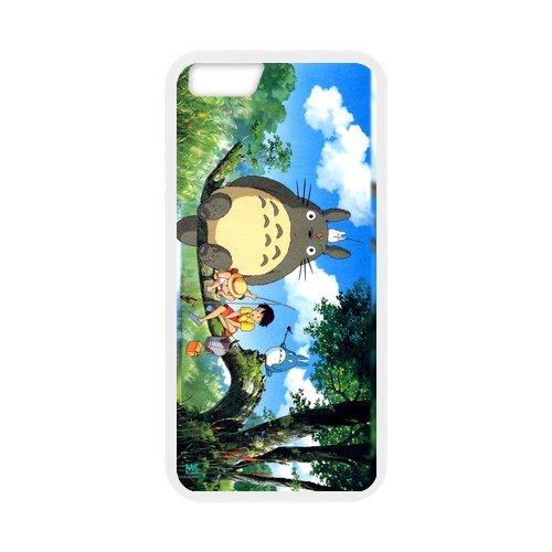 """'Anime Totoro Design Étui pour l'iPhone 6/6S, Personalized Coque pour iPhone 6(4.7inch) """", Customize Anime Totoro TPU Phone Case Housse de Protection Housse Coque Étui Cas Back Cover p"""