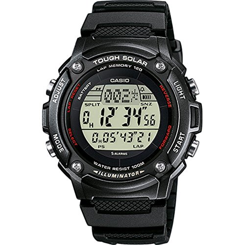 Casio Collection Unisex Armbanduhr - Casio-digital-solar-uhr