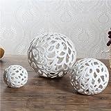 amazon.it: sfere ceramica - soprammobili / accessori decorativi ... - Soprammobili Moderni Soggiorno
