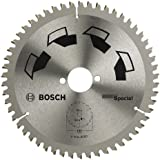 Bosch DIY Kreissägeblatt Spezial für verschiedene Materialien, Ø 130 mm, 40 Zähne
