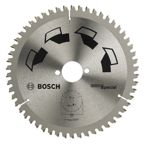 Bosch DIY Kreissägeblatt Special für verschiedene Materialien (Ø 210 mm, 64 Zähne)