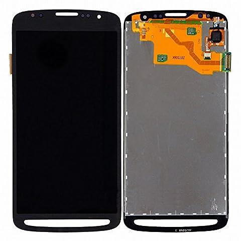 ixuan Pièce de remplacement Vitre Tactile Ecran LCD Assemblé pour Samsung Galaxy S4 Active i9295 i537 Noir avec Outiles