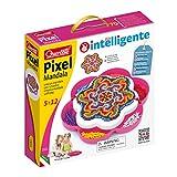 Quercetti- Pixel Mandala Gioco di Costruzione, Multicolore, 1208 Pezzi, 2101