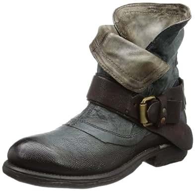 Airstep 723205 723205-8510-8487, Damen Biker Boots, Blau (army+ebano 8487), EU 38