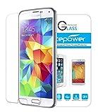 ACEPower Galaxy S5 Schutzfolie, Gehärtetem Glas Schutzfolie Displayschutzfolie Displayschutz Screen Protector für Samsung Galaxy S5
