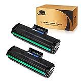 JARBO MLT-D101S D101S Toner Kit 2 Nero Compatibile per ML-2160 ML-2161 ML-2162 ML-2165 ML-2165W ML-2168 SCX-3400 SCX-3400F SCX-3401 SCX-3405 SCX-3405FW SCX-3405W SCX-3405F SF-760P SF-765P