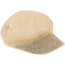 MagiDeal Cappello Berretto Ottagonale Berretto da Cuoco Gatsby Newsboy  Estate Unisex - Cachi 66e2c11b7601