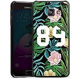 Samsung Galaxy A3 (2016) Housse Étui Protection Coque Université 89 Fleurs