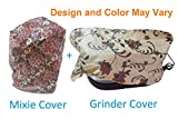 SUVE Mixer and Grinders Cover (Design and Colour May Vary, Free Size) - Set of 2