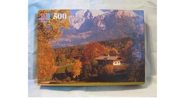 Milton Bradley 500 piece Jigsaw Puzzle