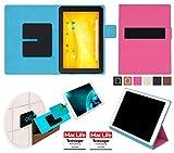 TrekStor SurfTab xiron i 10.1 Pure Hülle Tasche Cover Case Bumper | in Pink | Testsieger