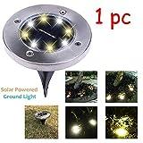 Solar Lamp TAOtTAO LED Solar Power Buried Licht unter Boden Lampe Outdoor Weg Weg Garten Terasse