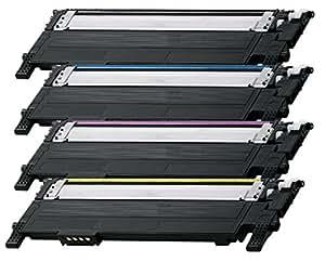 Prestige Cartridge CLT-404S Kit 4 Toner compatibili per Samsung Xpress SL-C430W, SL-C480FW, SL-C480W, SL-C480FN