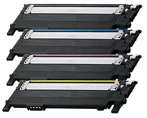 Preisvergleich Produktbild Prestige Cartridge CLT-404S 4-er Set Toner kompatibel für Samsung Xpress SL-C430W, SL-C480FW, SL-C480W, SL-C480FN
