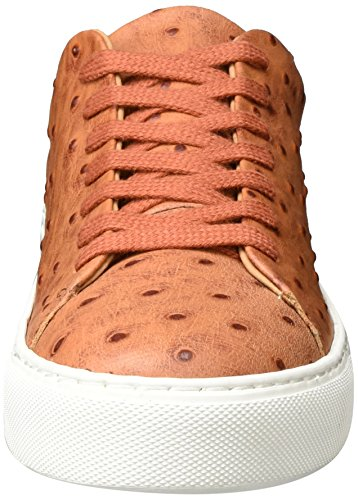 SELECTED FEMME Sfdonna Ostrich Sneaker, Scarpe da Ginnastica Basse Donna Marrone (Burlwood)