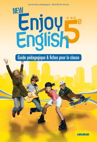 New Enjoy English 5e - Guide pédagogique + fiches
