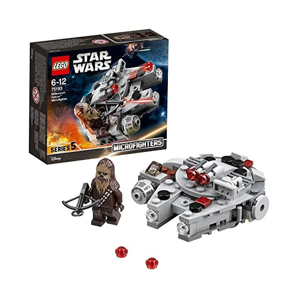LEGO- Star Wars Microfighter Millennium Falcon, Multicolore, 75193 1 spesavip
