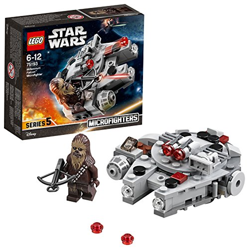 LEGO Star Wars - Microfighter Faucon Millenium - 75193 - Jeu de Construction