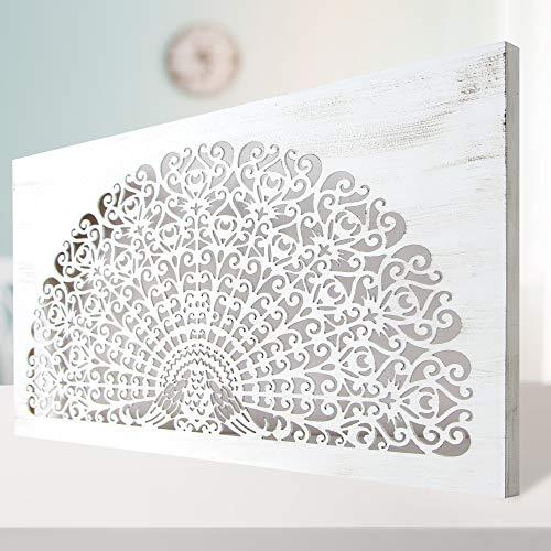 Cuadro Mandala de Pared Calada, Fabricada artesanalmente en España- M