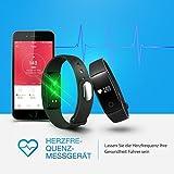 【Neue Version】Fitness Tracker,Mpow Bluetooth Fitness Armbänder mit Pulsmesser Herzfrequenzmesser, Schrittzähler, Schlaf-Monitor, Aktivitätstracker, Remote Shoot, Anrufen / SMS, finden Telefon für Android iOS Smartphone wie iPhone 8/8 Plus/7/7 Plus/6S/6/6 Plus, Huawei P9. - 3
